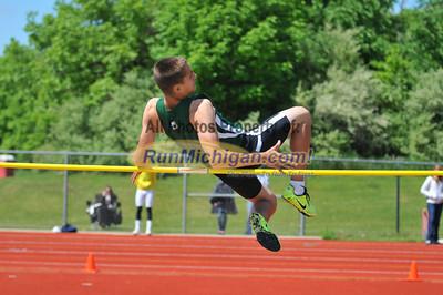 Boys' High Jump - 2013 Oakland County Track Meet