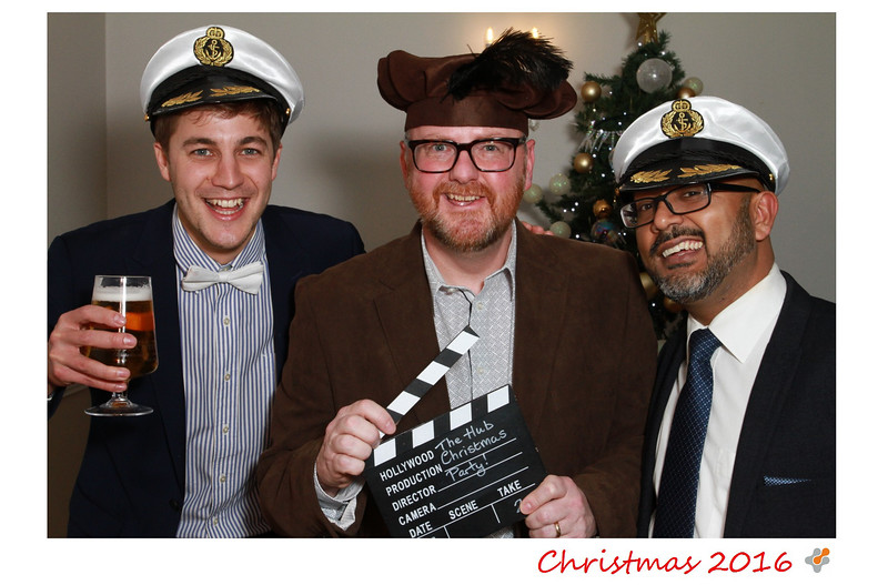 The Hub Christmas Party Photobooth Photos