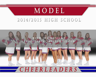 Model High School Cheerleading