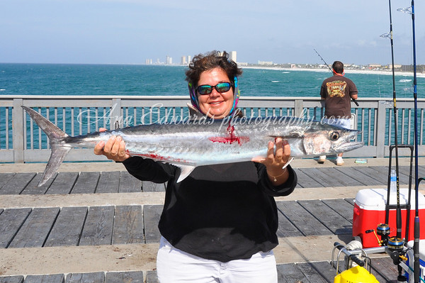 Fishing at M.B. Miller (County pier) PCB 2012
