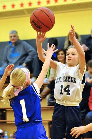 3.3.12 - St. Alexis vs. St. James - 3rd Grade Girls