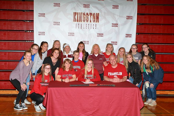 Signing at Kate Walton Field House