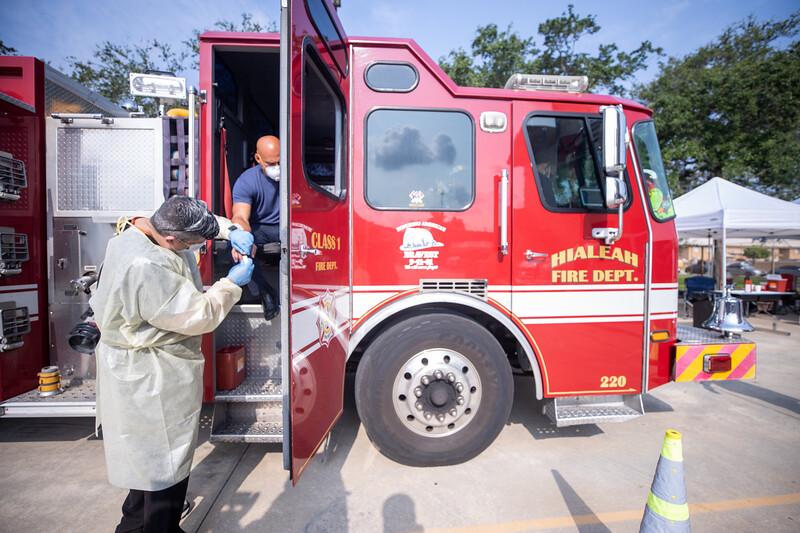 April 16, 2020 Gordon Center COVID Testing Hialeah Fire-143.jpg