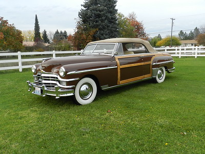 1949 Chrysler Town and  Country Convertible - For Sale