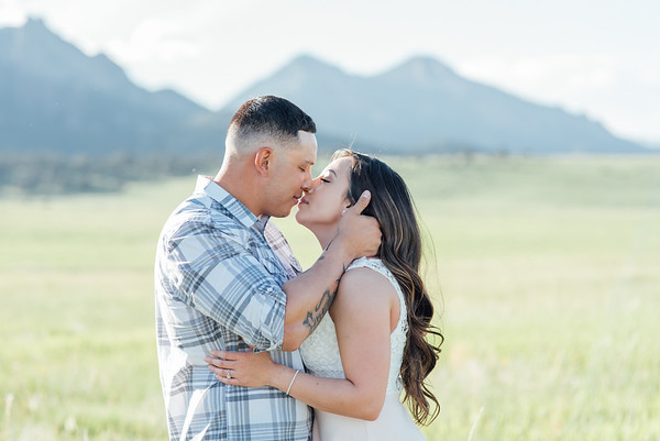 Gabby & Markus | Mountain Engagement Session