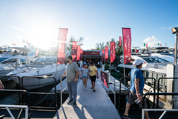 Azimut Miami Yacht Show Luxury Event