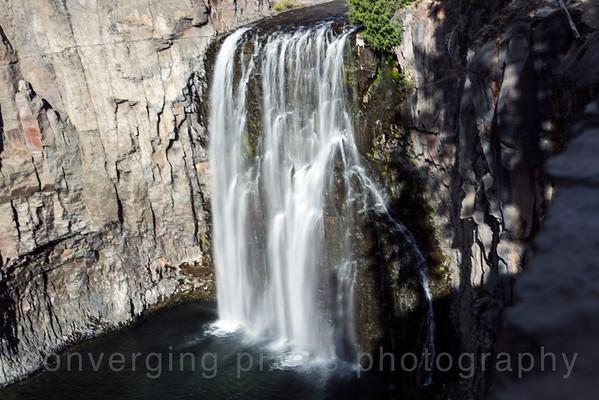 Mammoth , Ca   Rainbow Waterfall  3987