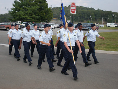 AFJ-ROTC Homecoming Parade 2010