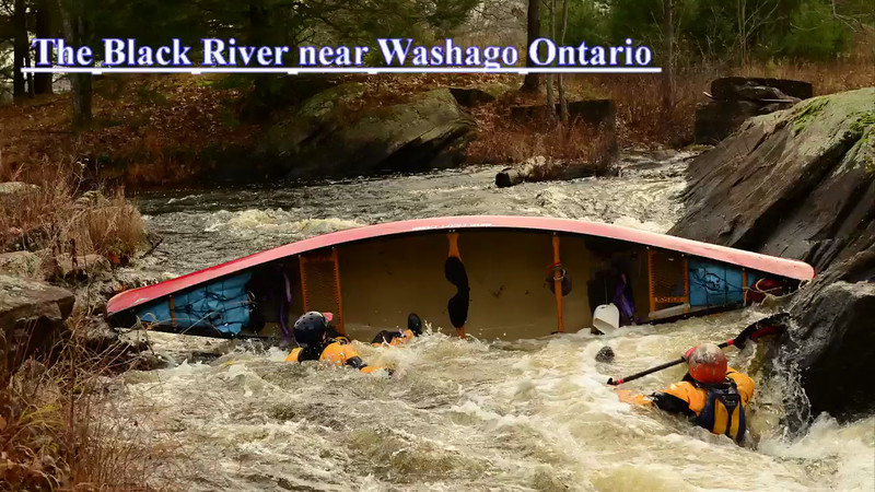 Black River near Washago Ontario