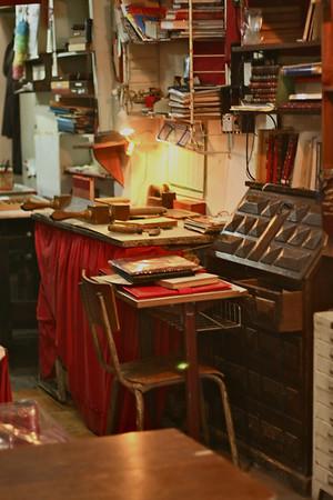 Bookbinding in Tangier