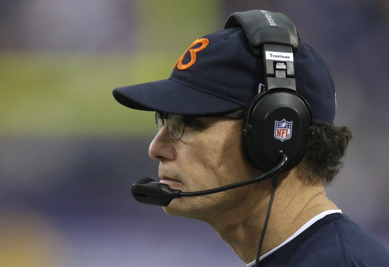 """. <p>2. MARC TRESTMAN <p>Who in their right mind calls for a 47-yard field goal on second down? That�s right ... nobody. (unranked) <p><b><a href=\'http://www.twincities.com/sports/ci_24634205/vikings-23-bears-20-blair-walsh-kick-ends\' target=\""""_blank\""""> HUH?</a></b> <p>   (AP Photo/Jim Mone)"""