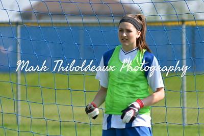 Lampeter-Strasburg Girl's Junior High Varsity Girl's Soccer v. SOL 4.19.12