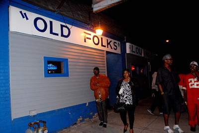"A Birthday Party at the ""OLD FOLKS"" Lounge in KCMO Oct 12, 2013"