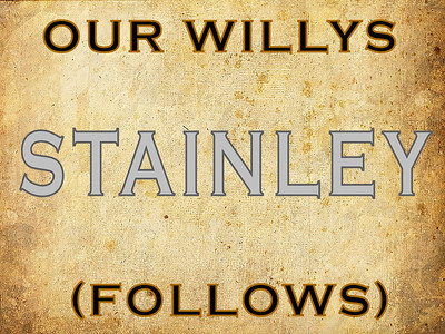 STAINLEY, DIVIDER (NO PHOTOS)