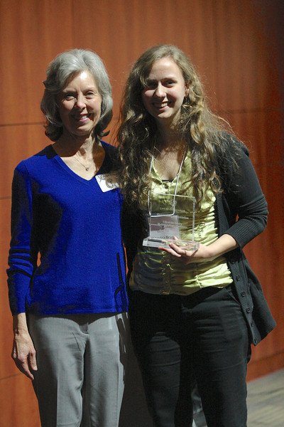 Kendra Bragg with mentor Dr. Carolyn Billings