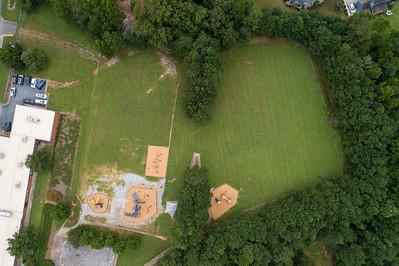 Harmony Elementary Drone Track 8/16/2021