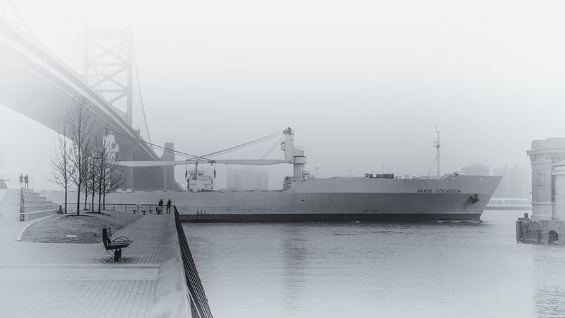 Ship at the Pier-.jpg