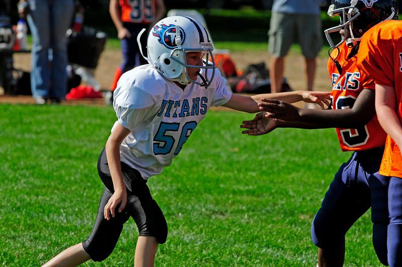 Pee Wees Week 1 - Bears v. Titans