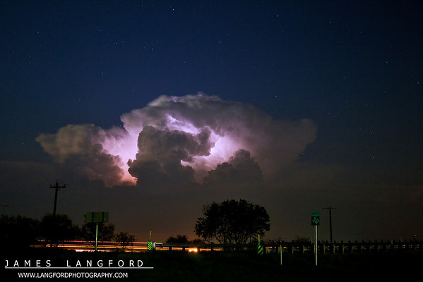 October 24th Lightning Chase
