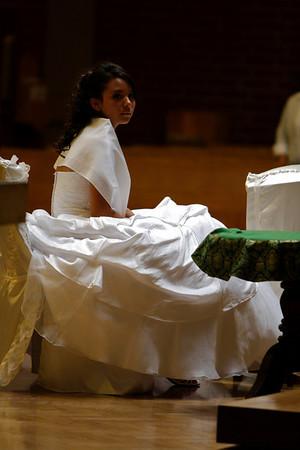 Felicia's Quinceanera Mass