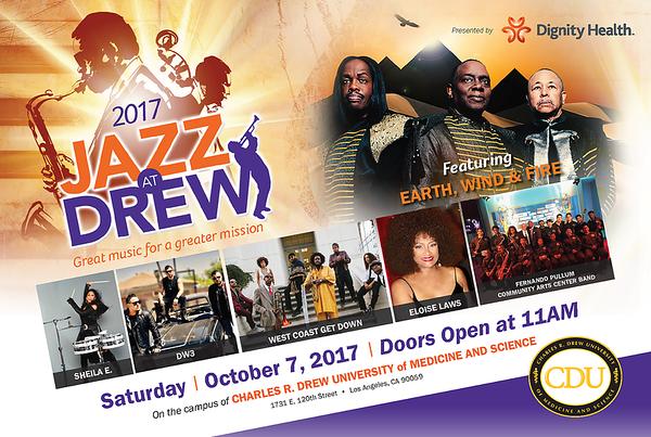 Artist Photos: Jazz at Drew 2017, Oct. 7, 2017 at CDU