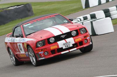 Black Sun Racing Mustang