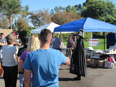 October Neighborhood Exchange with the San Diego Armed Services YMCA