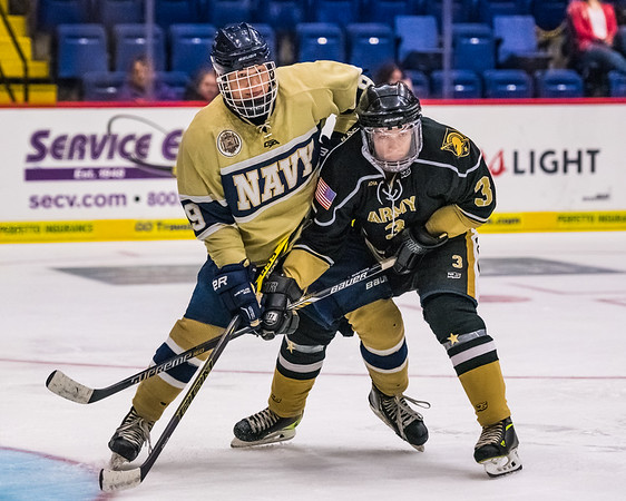 2015-11-07 Navy IMen's Ice Hockey vs Army at the Santandler Arena in Reading, PA