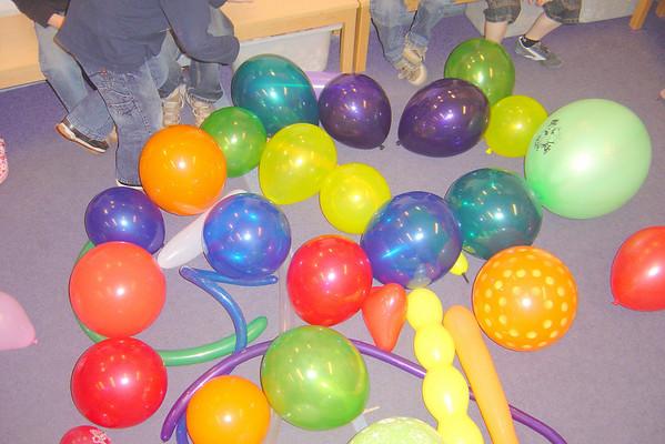 Ballonnen, groep 4