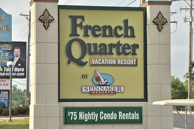 Spinnaker's French Quarter Resort - Branson MO 9/2018