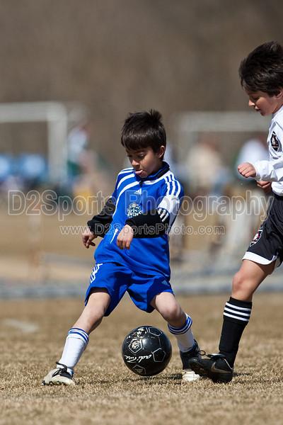 U10 Academy Boys NMSC U10D vs TCYSA Roma 2/27/2010