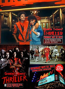 "DAMION THOMAS ""THRILLER / HALLOWEEN COSTUME PARTY""(40)"