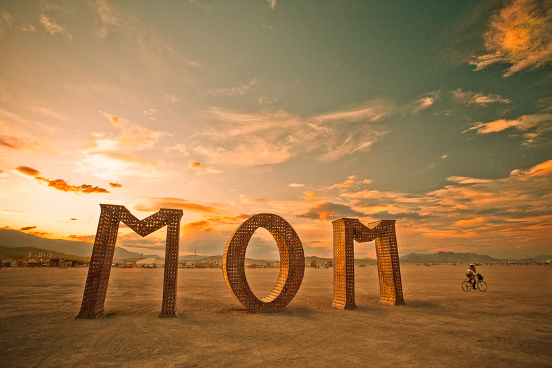 Mom | Burning Man, 2009
