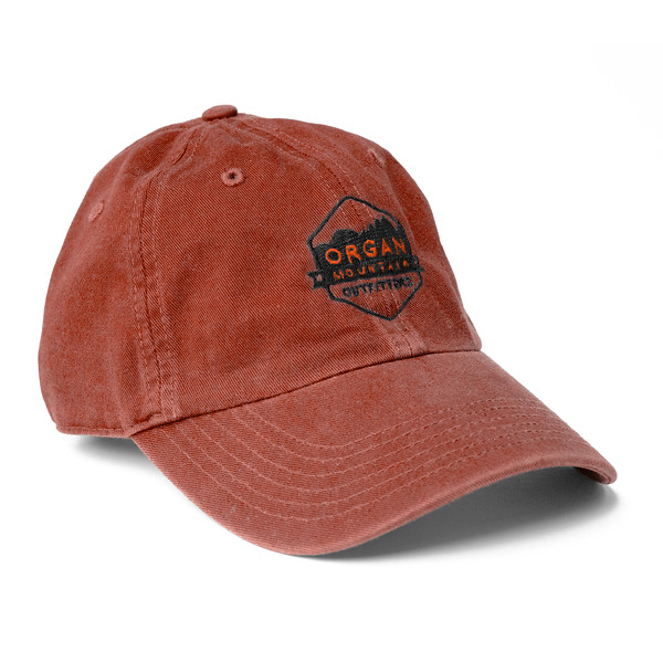 Outdoor Apparel - Organ Mountain Outfitters - Hat - Dad Cap Classic Logo - Brick.jpg