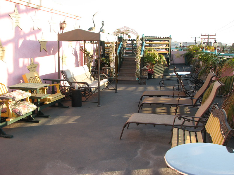 Sundeck on Days Inn Hotel in Santa Monica