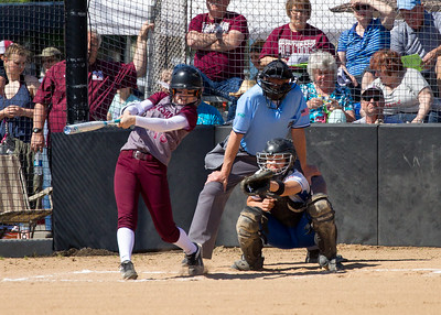 LaCenter HS vs. Montesano HS, district championship, May 20, 2017