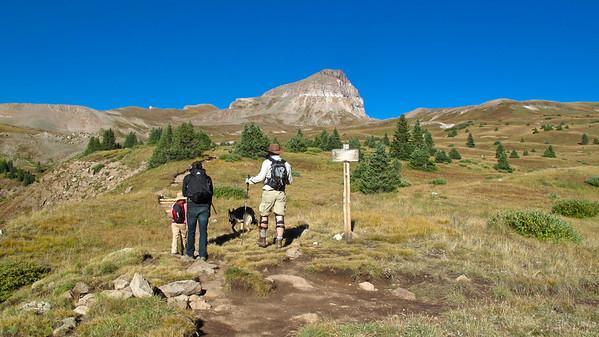 Uncompahgre Peak 14,309 feet