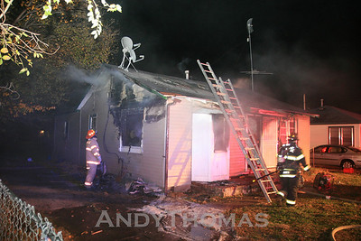 House Fire 2020 N. Minnapolis (11/8/2009)