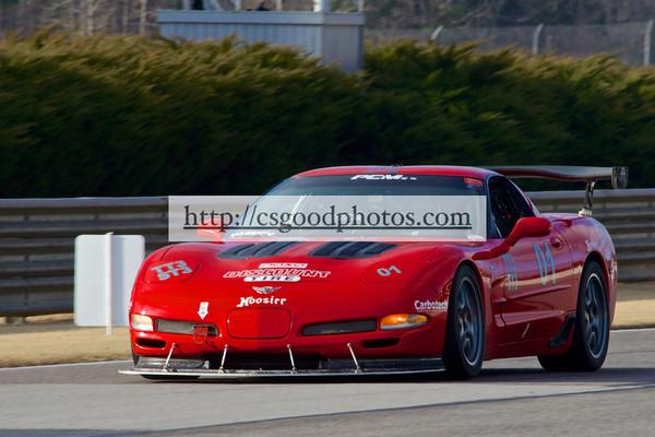KH 01 Red Corvette