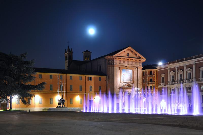 Piazza Martiri del 7 Luglio - Reggio Emilia, Italy - March 20, 2011