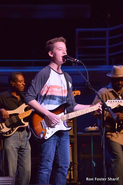 Quinn Sullivan -Blues Prodigy: At the Palladium in Carmel, Ind