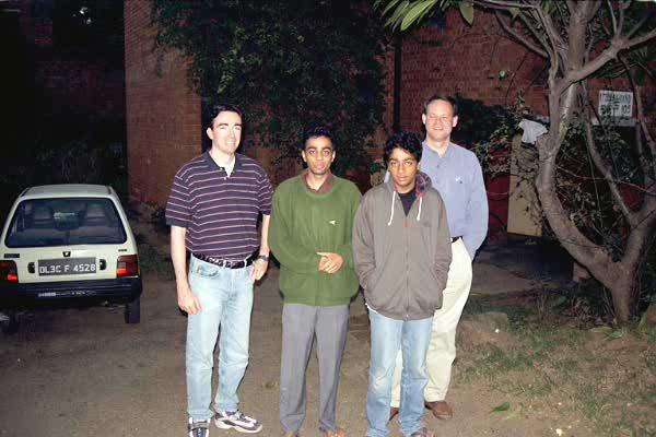 1998-11 New Delhi, India Visit