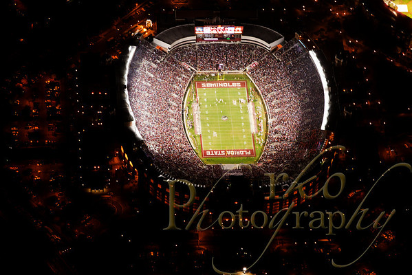 Aerial - FSU vs Clemson 11-13-10 Night