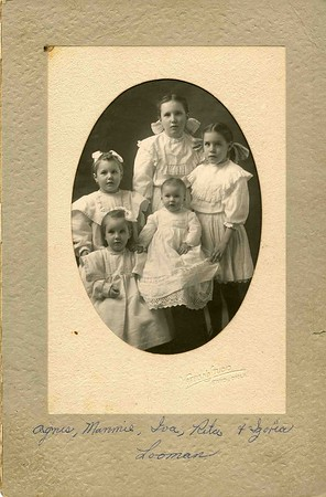Reta Ruby    or Grandma and her Father Mother and Sisters