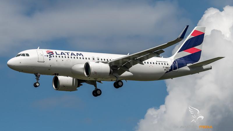 LATAM / Airbus A320-273N / F-WWDY (to be PR-XBD)