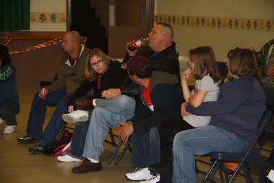 Pinewood Derby, Girl Scouts, Boy Scouts, St. John's Church, Tamaqua (1-28-2012)