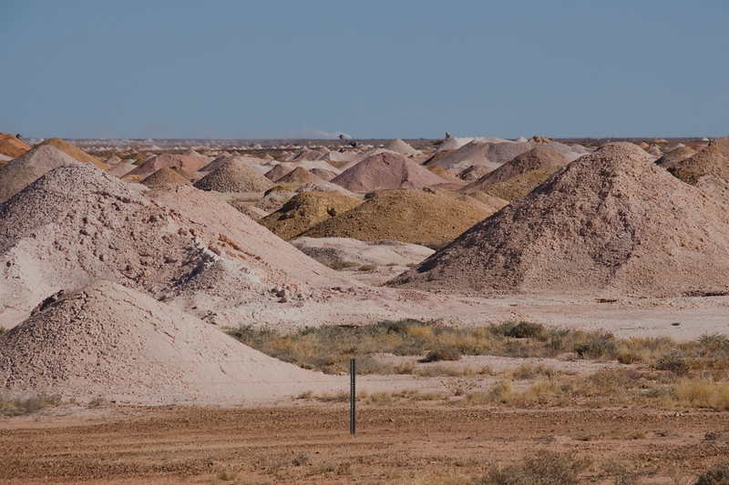 Mine Piles 5 - Coober Pedy, South Australia