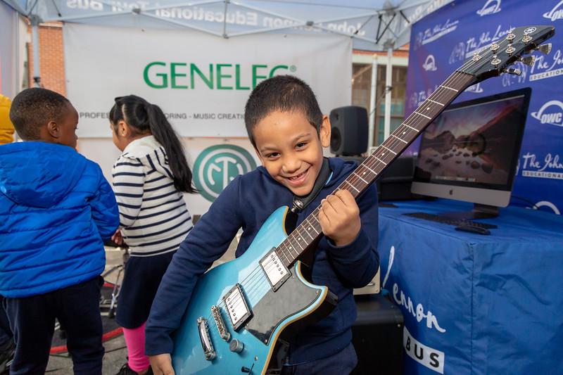 2019_10_11, Bronx, NY, PS25, Tents, Genelec, Yamaha