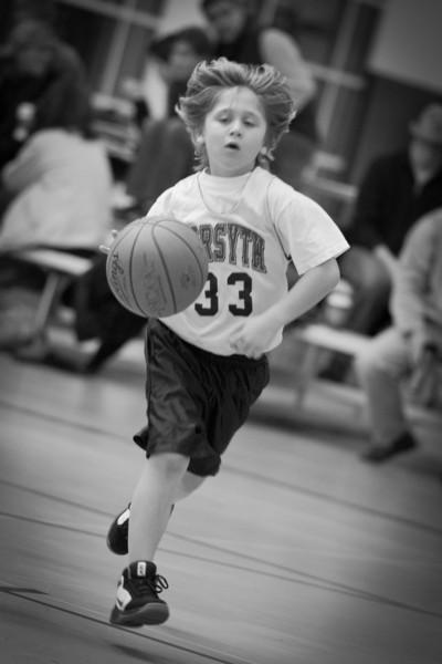 Second Grade Basket Ball 1-8-2011