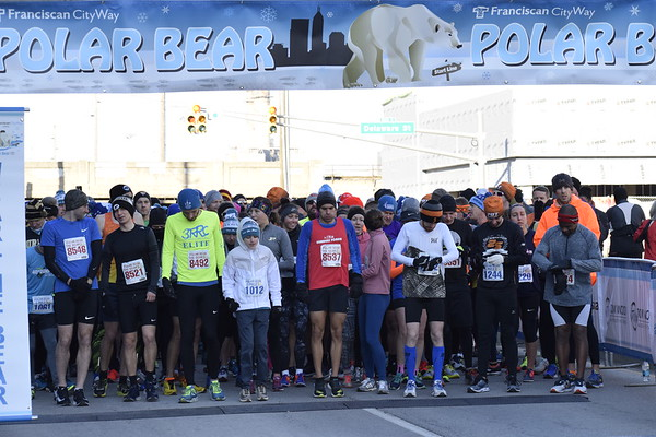 Polar Bear 5 Mile Start